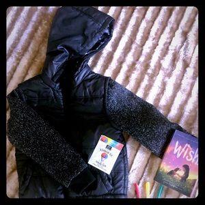 Girls Urban Republic Puffer Jacket w/Hood